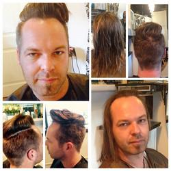 Makeover!! #Demarcus working his magic! #salondemarcus #haircut #bestsandiegohairsalon #sandiegohair