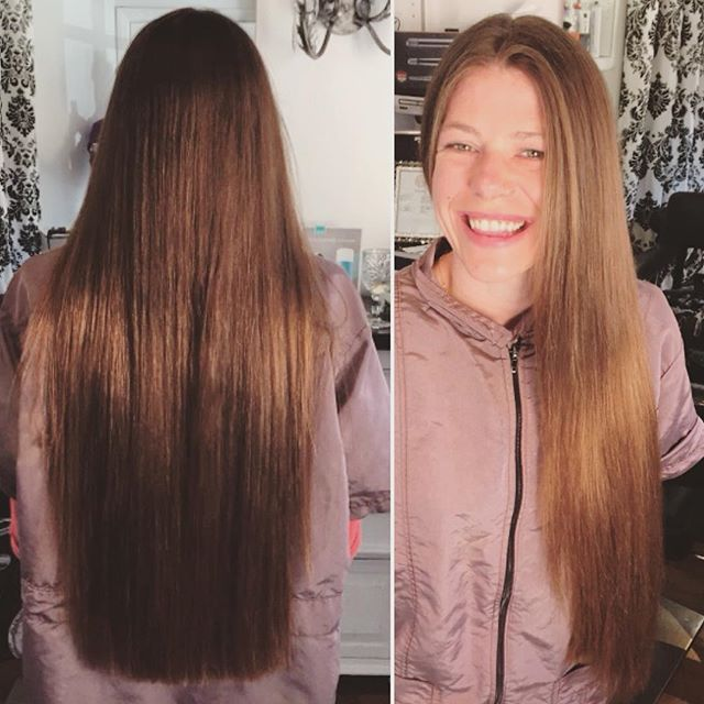 Haircut and Moroccanoil blowdry and style by Marcus #longhair #professional #moroccanoil #blowouts #