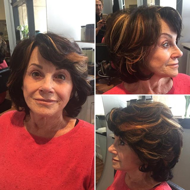 Cut, color, and highlight with Marcus 💕 #dmoil #healthyhair #healthyskin #sandiegohair #sandiegohai
