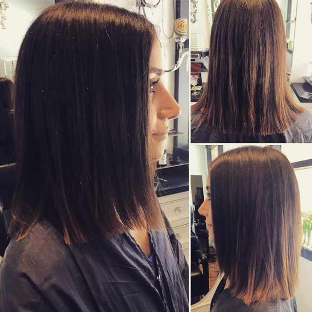 Short and chic haircut by Marcus #sandiegohairsalon #salondemarcus #gaslamp #sassy #chic #shorthair
