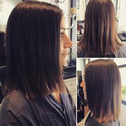 Short and chic haircut by Marcus #sandiegohairsalon #salondemarcus #gaslamp #sassy #chic #shorthair