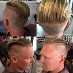 One of a kind men's cut by Marcus H