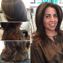 Touch up on color and a haircut by Marcus #salondemarcus #sandiego #gaslampdistrict #sandiegohairsal