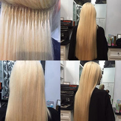 Hairdreams extensions plus root touch up and cut by Marcus #extensions #sandiegohairsalon #professio