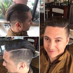 Another amazing men's cut by Marcus #professionalstylist #gqstyle #distinguishedgentlemen #menscut #