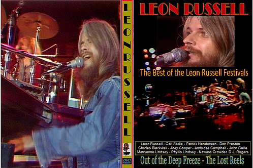 Leon Russell - Out of the Deep Freeze DVD