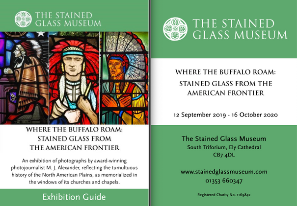 WHERE THE BUFFALO ROAM: STAINED GLASS FROM THE AMERICAN FRONTIER