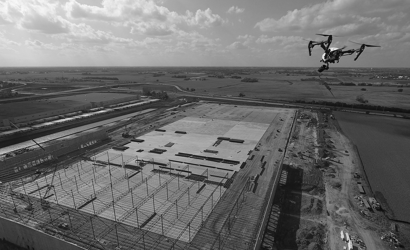 AEC Industry Aerial Photography & Videos