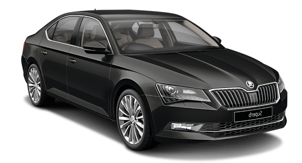 Lease & Drive -SKODA SUPERB Black