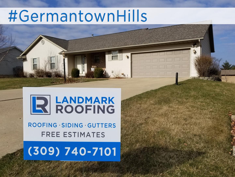 Landmark Roofing Germantown Hills IL Geo