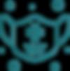 transparent-line-aqua-turquoise-circle-s