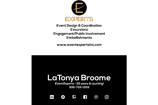 Event Experts Contact Information