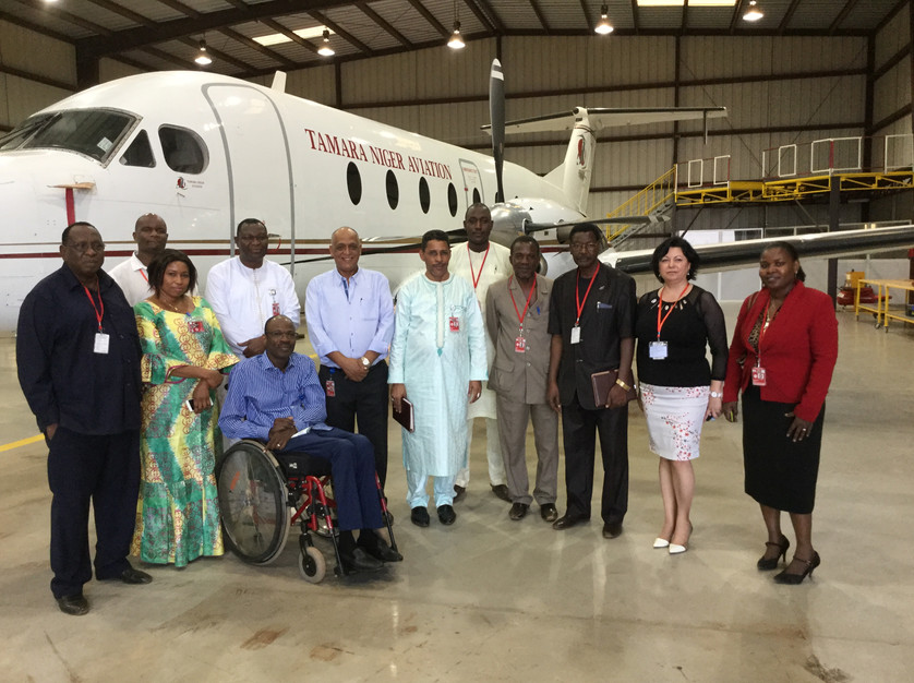 Visit of the Director General of ANAC Niger