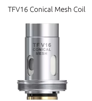 COIL TFV16 CONICAL MESH 0.2 Ω