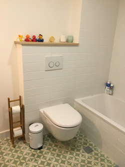Totally new bathroom