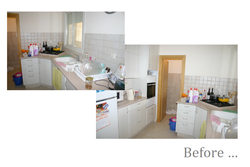 The Kitchen before renovation