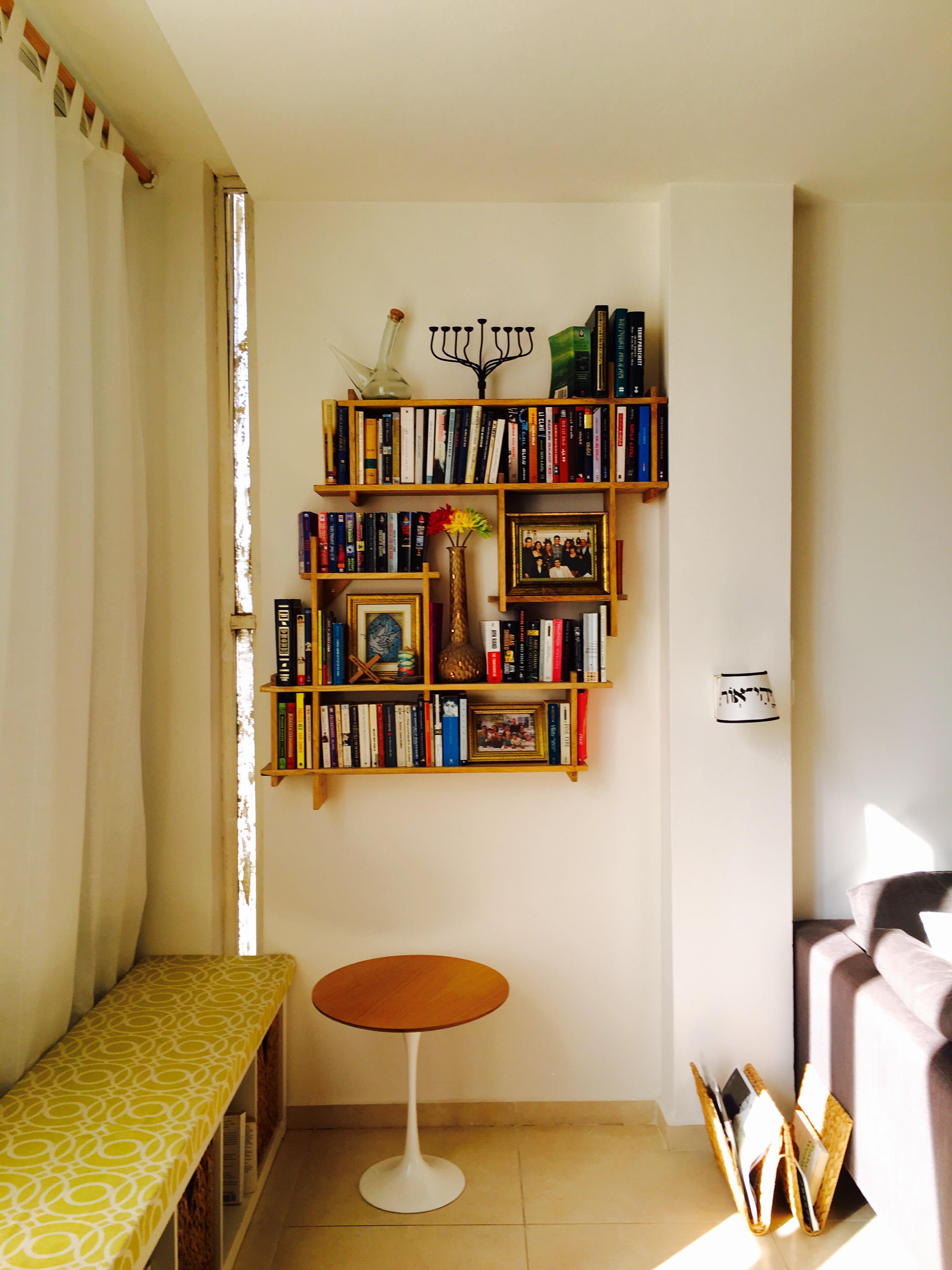 Great bookshelf display