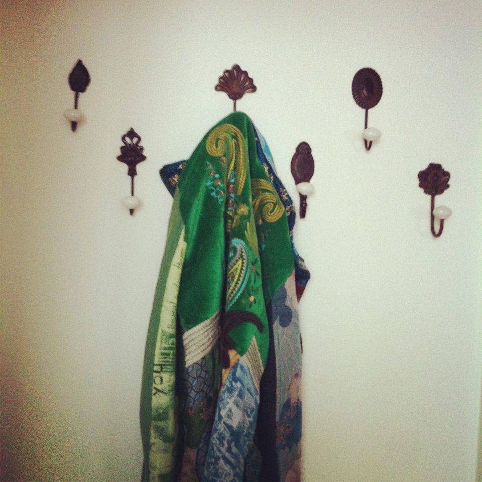 Home made coat rack