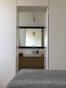 Secret door to en-suite bathroom