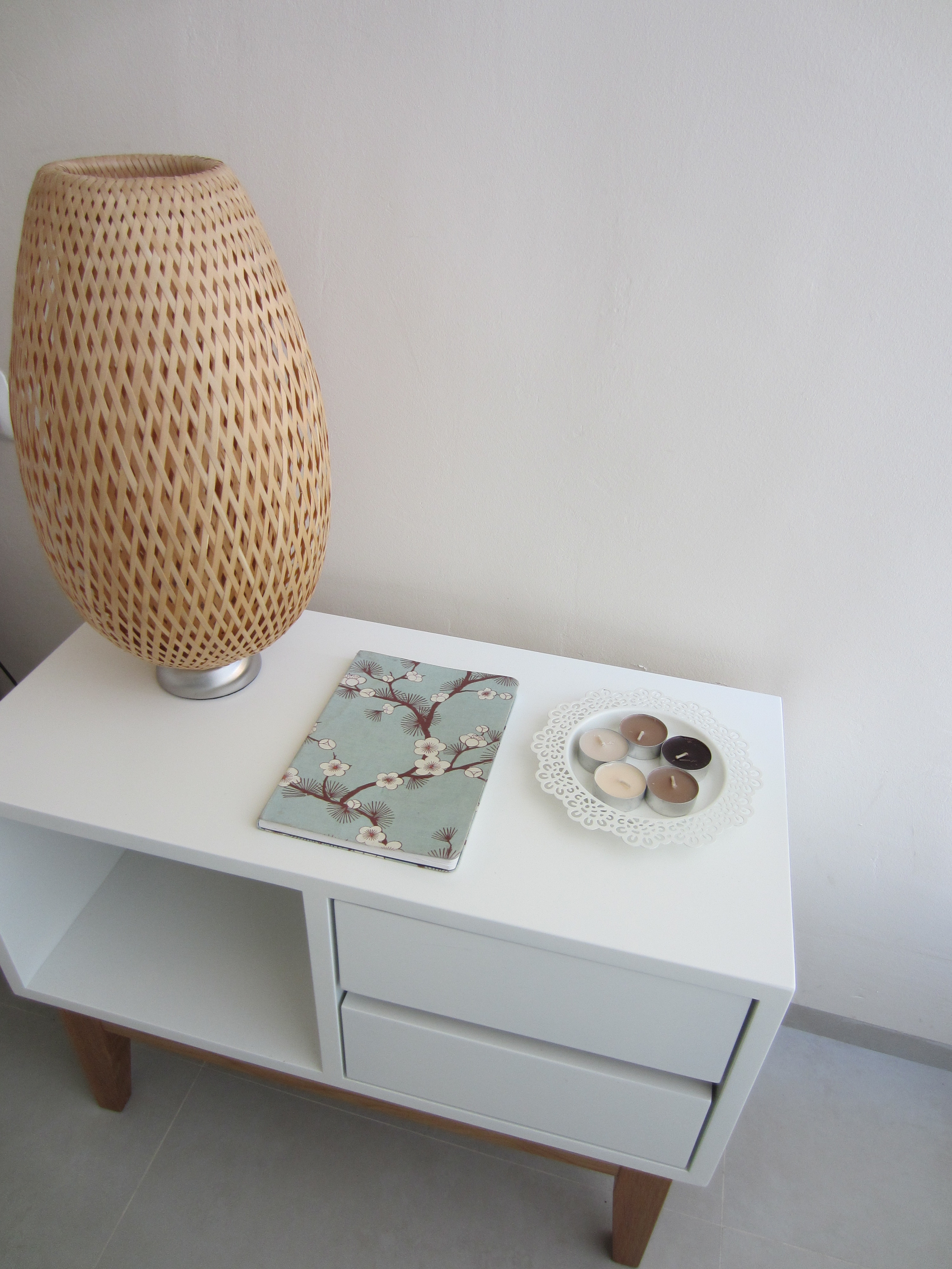 Stylish bedside table