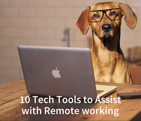10 Tech Tools to Assist with Remote Working