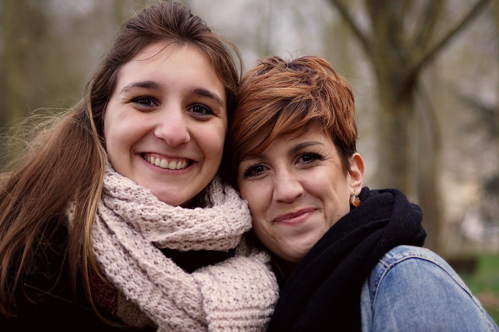 """Moi (Meggane Mollet) & Stéphanie Lemmens de """"Il était une fois"""""""
