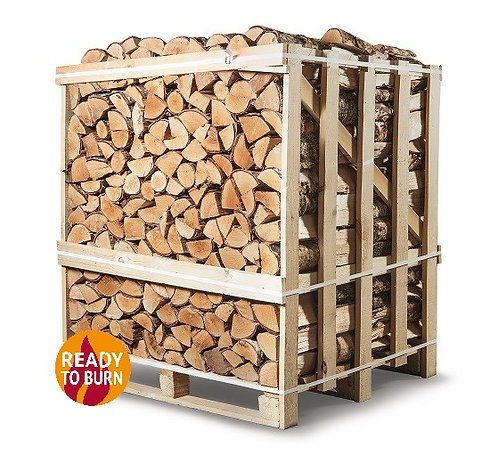 King Size Crate of Kiln Dried Hornbeam