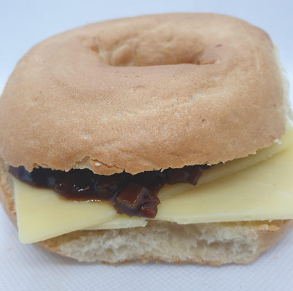 Cheese & Pickle Bagel