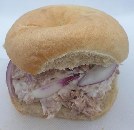 Tuna Crunch Bagel