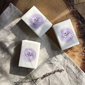 Lavender handmade soap bar.JPG