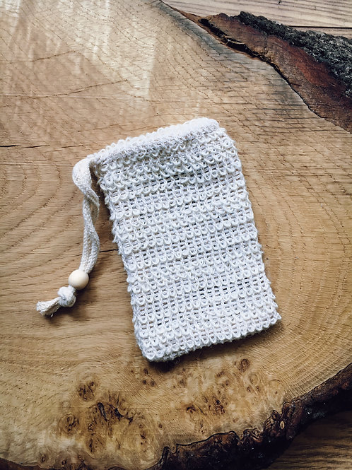 Sisal Soap Bag Accessory - for soaps & shampoos