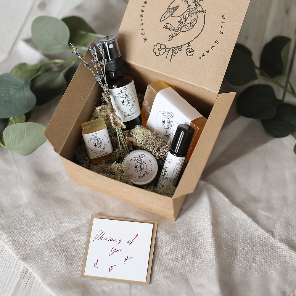 Handmade well-being gift set