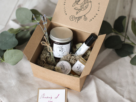 Order A Well-Being Gift Box Online And Include A Personalised Message, For Free