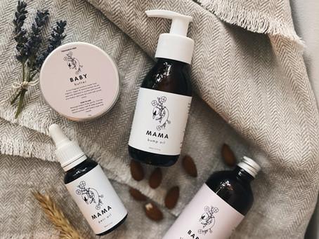 Mama & Baby Natural Skincare Range