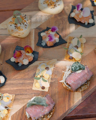 Canapes by Entire Catering