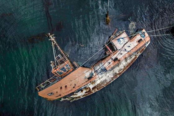 Wreck in Ushuaia