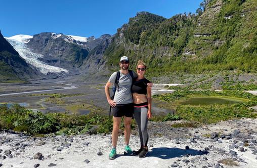 Hike Ventisquero El Amarillo Glacier.