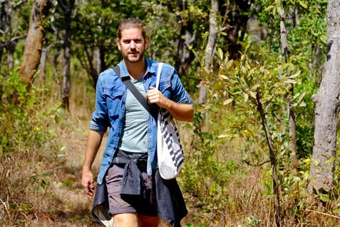 Hiking in Mutinondo Wilderness