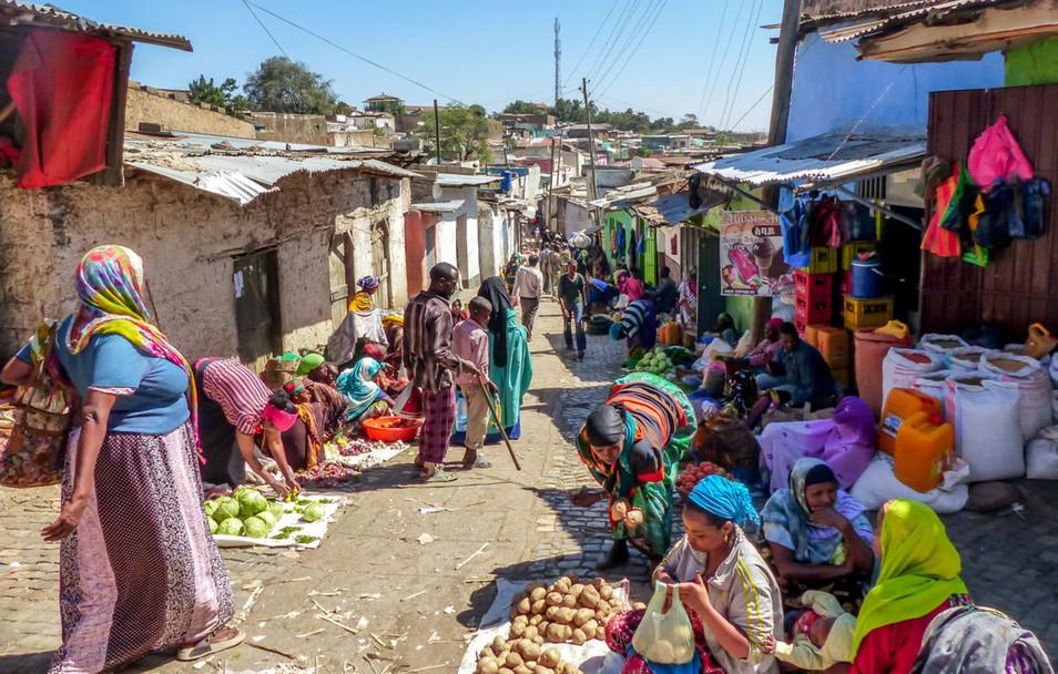 Famous Mercado Market.
