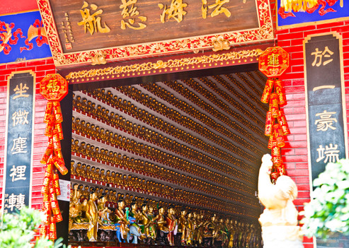 Klooster Ten Thousand Buddha's