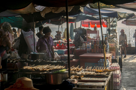 Crabmarket in Kep