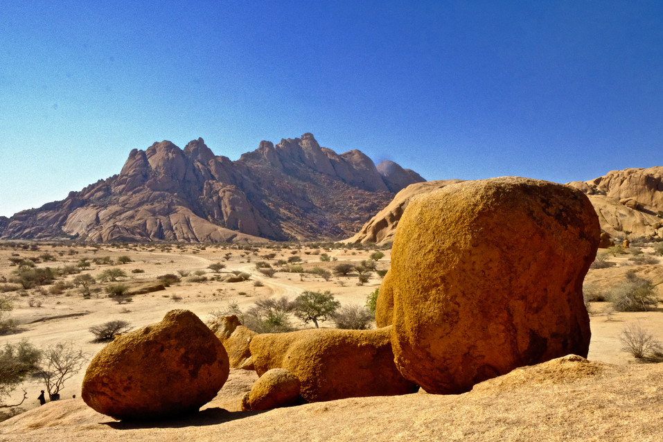 The Spitzkoppe is a granite island mount