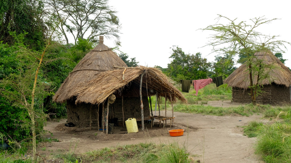 This is how the local people still live.