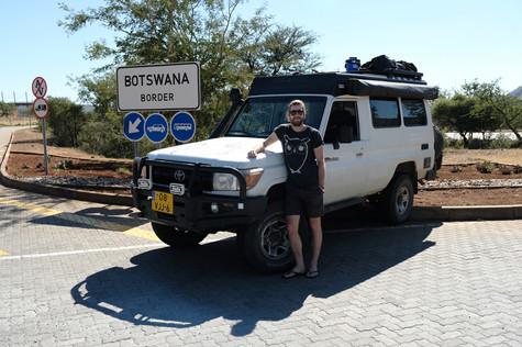 New Adventure, hello Botswana!
