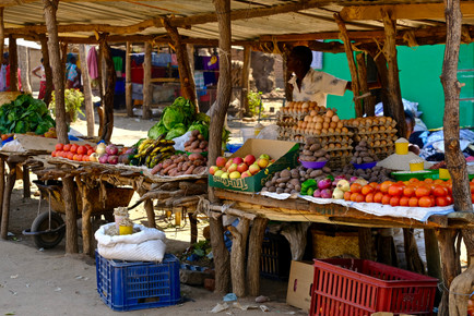 Local markets belong the way.