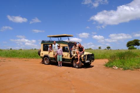 On safari with Ajabu Adventures!