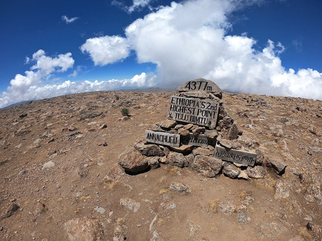 Second highest point of Ethiopia and we went there!