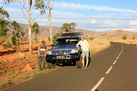 Our driver Jacky  that shows us all the cool places of Madagascar.