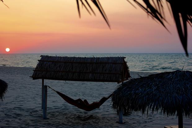 Zen in Morondava beach.