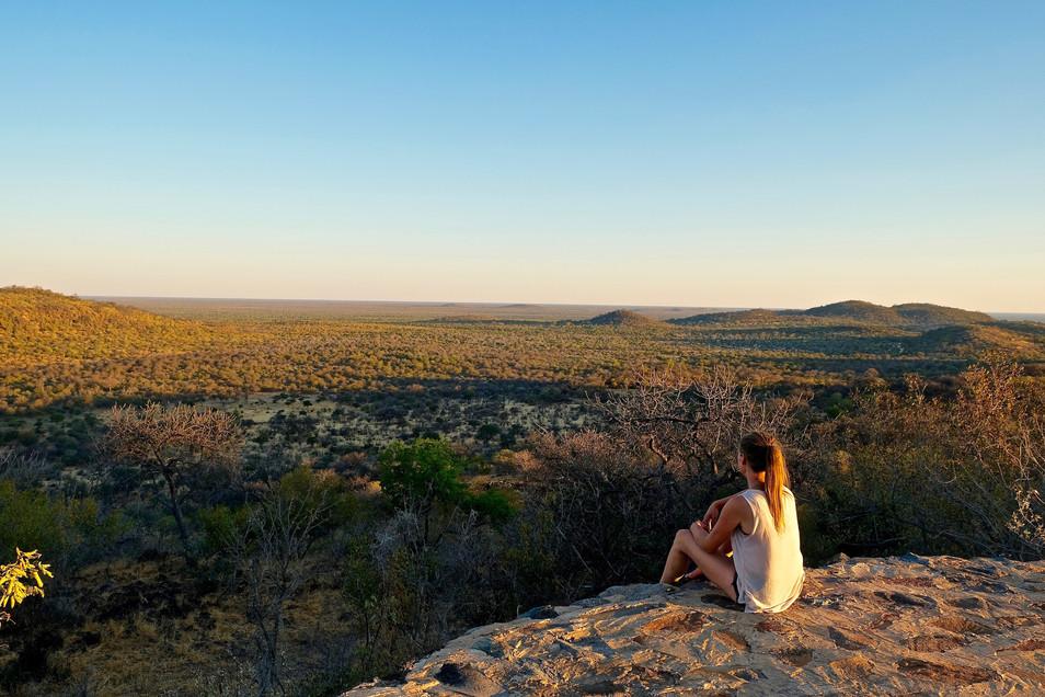 Kgalagadi National Park viewpoint